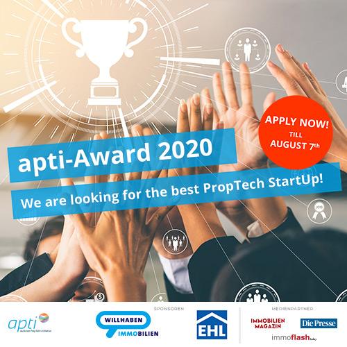 Bewerbungen für den apti-Award jetzt einreichen