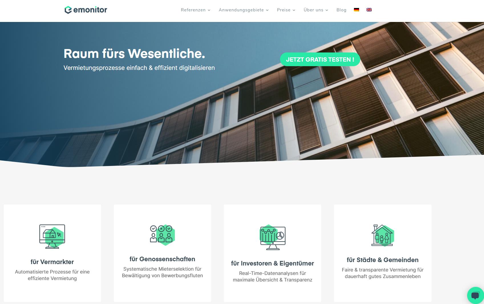 Website emonitor